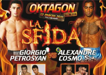Oktagon 2011: Petrosyan vs Cosmo - Video e Risultati 1