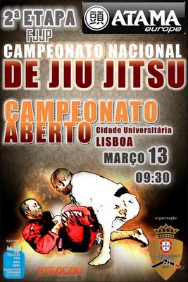2 Tappa del Campionato  Nazionale di Jiu-jitsu portogallo 1