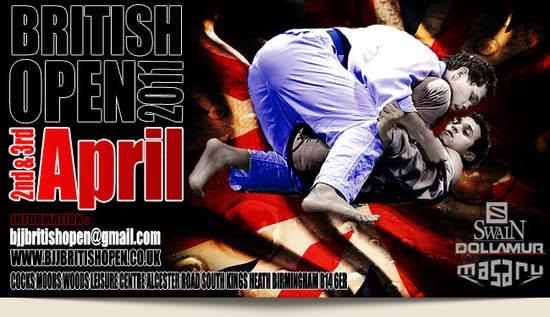 BJJ British Open 2011, 2-3 Aprile 1
