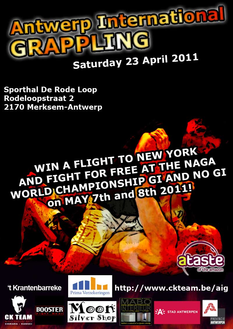Antwerp International Grappling 1