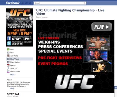 UFC 129 Prelims: TUTTI gratis su Facebook 1