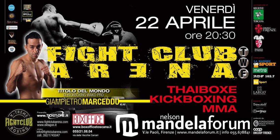 FIGHT CLUB ARENA TWF (Firenze 22 Aprile) 1