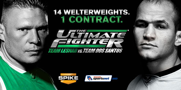 The Ultimate Fighter in Italia ( Brock Lesnar e Junior Dos Santos) 1