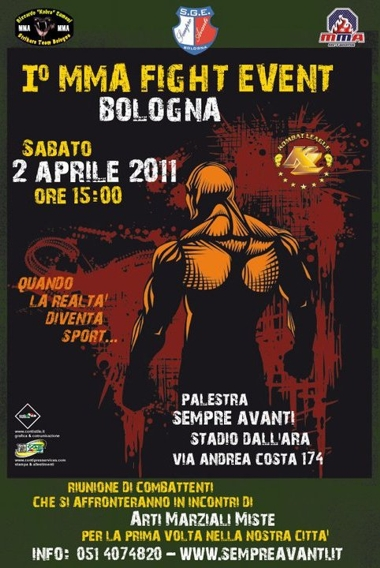 Riunione di MMA a Bologna 1