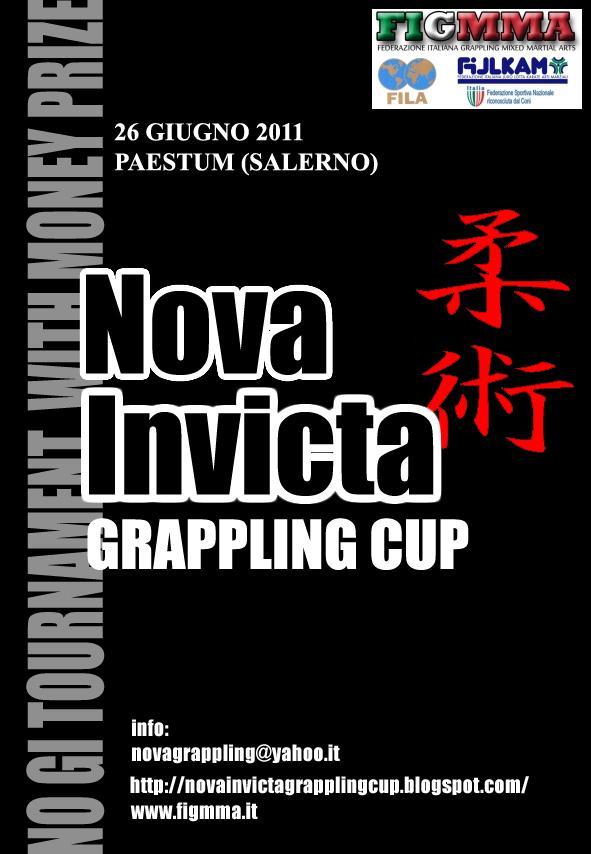 Nova Invicta Grappling Cup Open - oggi chiudono le iscrizioni 1