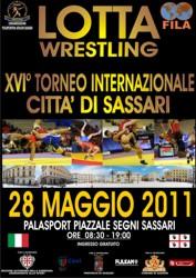 XVI Torneo Internazionale Città di Sassari di Lotta - Streaming 1