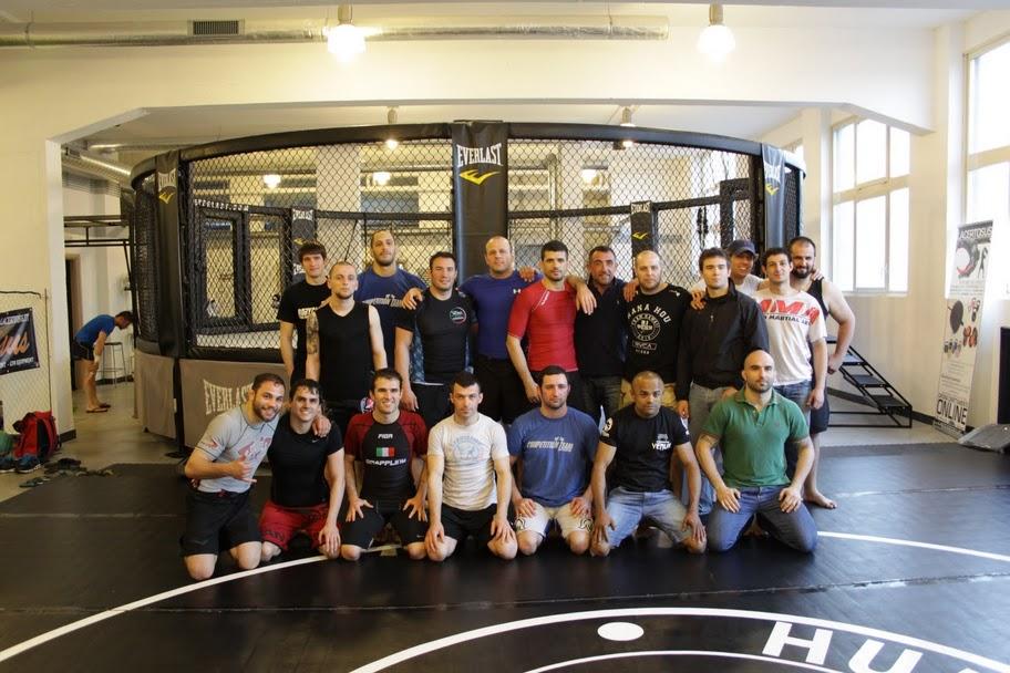 Nazionale Italiana di Grappling e MMA della FIGMMA 1
