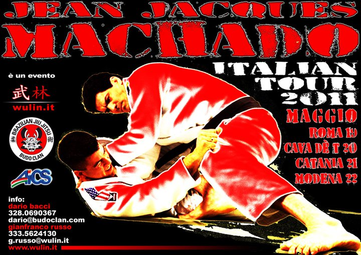 Jean Jacques Machado - Italian Tour 2011 1