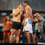 UFC on Versus 4: foto della pesa 4