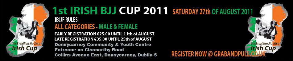 27 agosto: Irish Bjj Cup 1