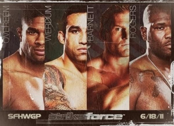 Strikeforce: Werdum vs Overeem - risultati LIVE 1
