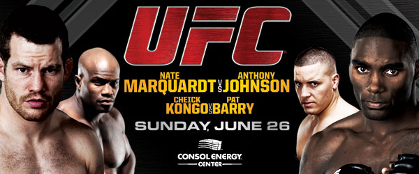 26 giugno - UFC on Versus 4: Marquardt vs. Story 3