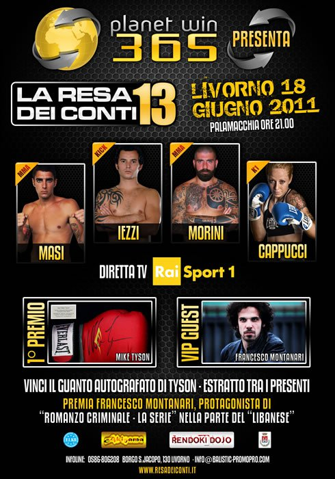 RDC 13 MMA live in streaming alle 22:00 1
