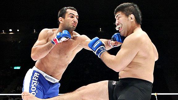 Dream GP finale: Mousasi vs Izumi in una foto 1