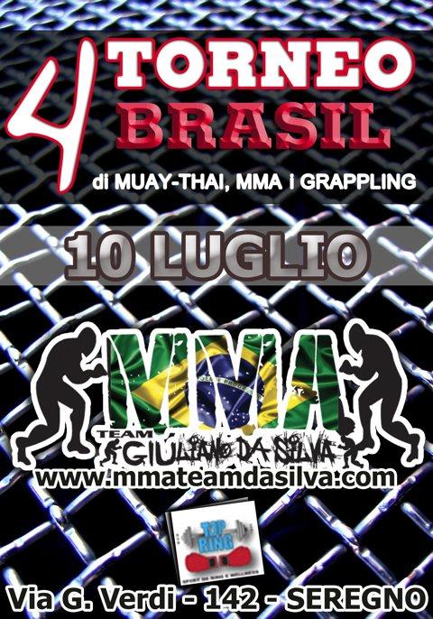 4 Torneo Brasil (MMA & Grappling) 1