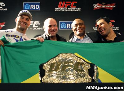 UFC Rio 134 in (gaudenti) numeri 1
