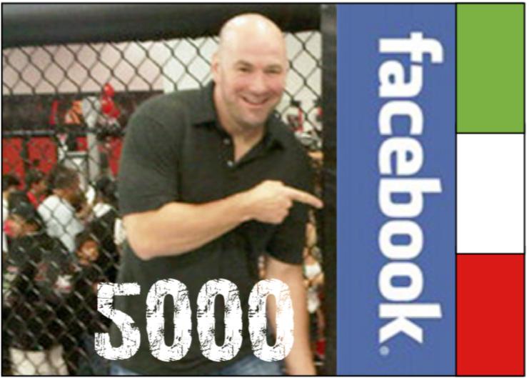 E su Facebook siamo a 5000 ! 1