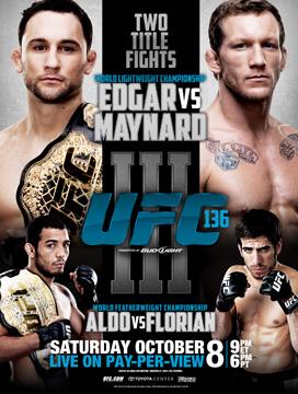 UFC 136 - Edgar vs. Maynard 3 promo video 1