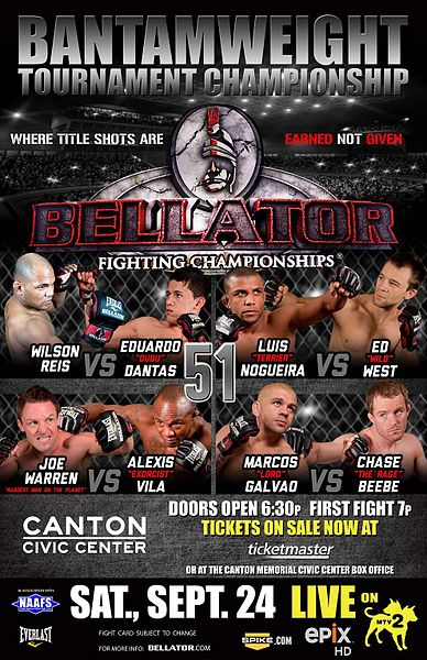 Bellator 51 risultati & Video 1