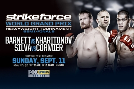 Strikeforce GP Semifinali: Barnett vs. Kharitonov - risultati live 1