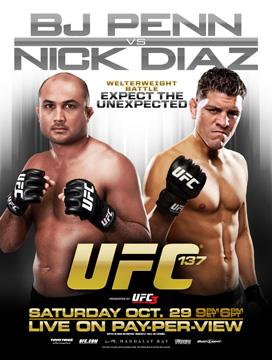 UFC 137: Penn vs. Diaz - Risultati live 1