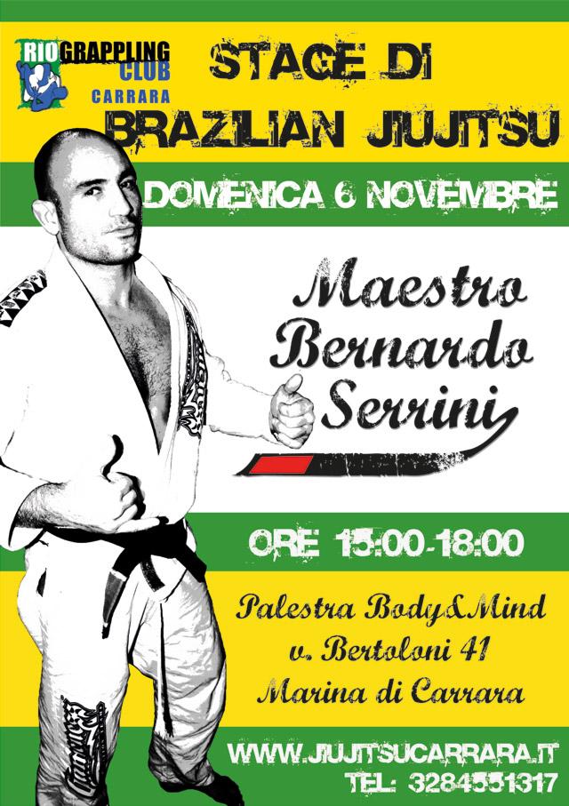 Bernardo Serrini Stage a Carrara 1