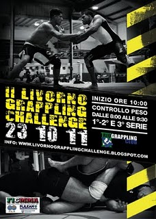 Livorno Grappling Challenge: iscrizioni chiudono Giovedi 1