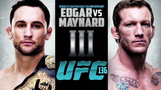 UFC 136: Edgar vs. Maynard III Risulati Live 1