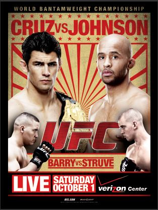 UFC on Versus 6 & Ufc su facebook:  Cruz vs. Johnson ( risultati ) 1