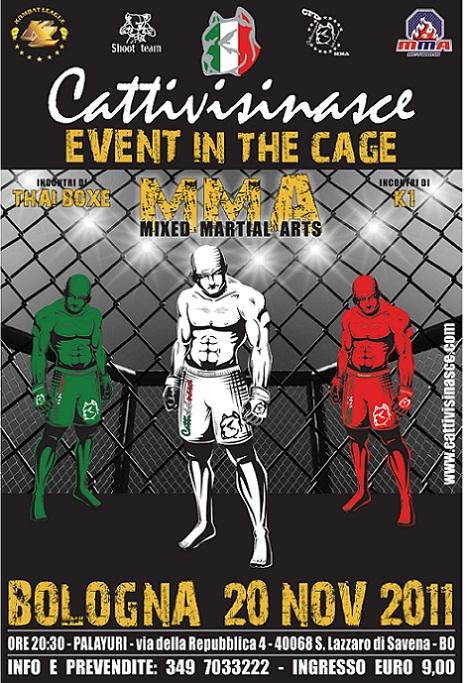 Cattivisinasce MMA a Bologna  1