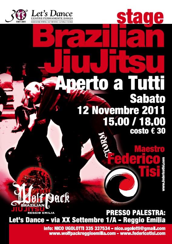 Federico Tisi in Stage a Reggio (12 Novembre) 1