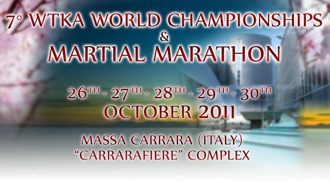 Campionati del mondo WTKA- La maratona marziale di Massa Carrara 1