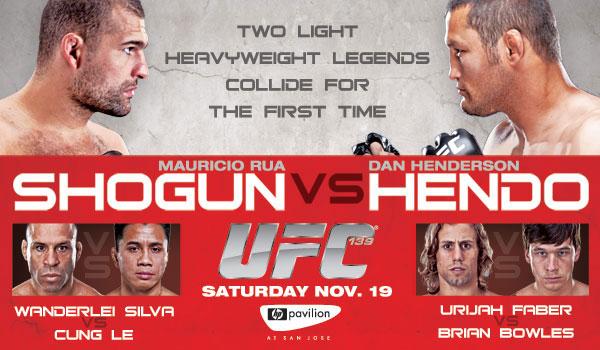 UFC 139: Shogun vs. Henderson - risultati live 1