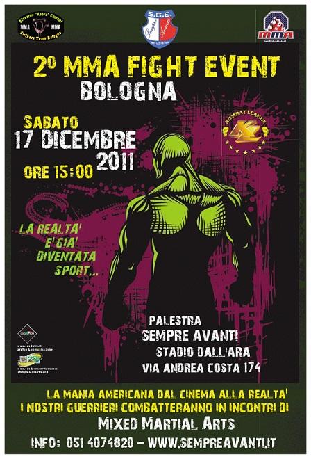 2 MMA Fight Event a Bologna alla palestra Sempre Avanti 1