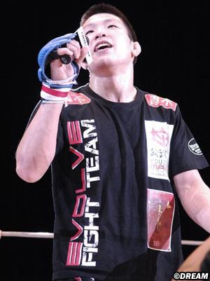 Shinya Aoki contro Eddie Alvarez per le MMA Giapponesi 1