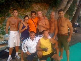 Allenamento estivo al Kombat Team di Alassio (BABA beach) 1