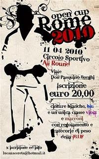 Rome Open Jiu Jitsu cup 2010 1