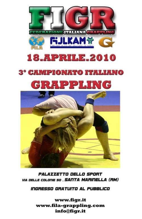 3° Campionato Italiano di Grappling (18 Aprile) 1