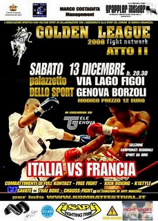 Golden League Genova 13-12-2008 1