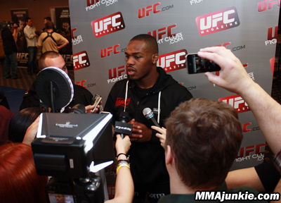 Jon Jones all'UFC 145 in Atlanta 1