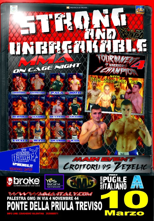 10 Marzo Strong and Unbreakable - MMA a Treviso 1