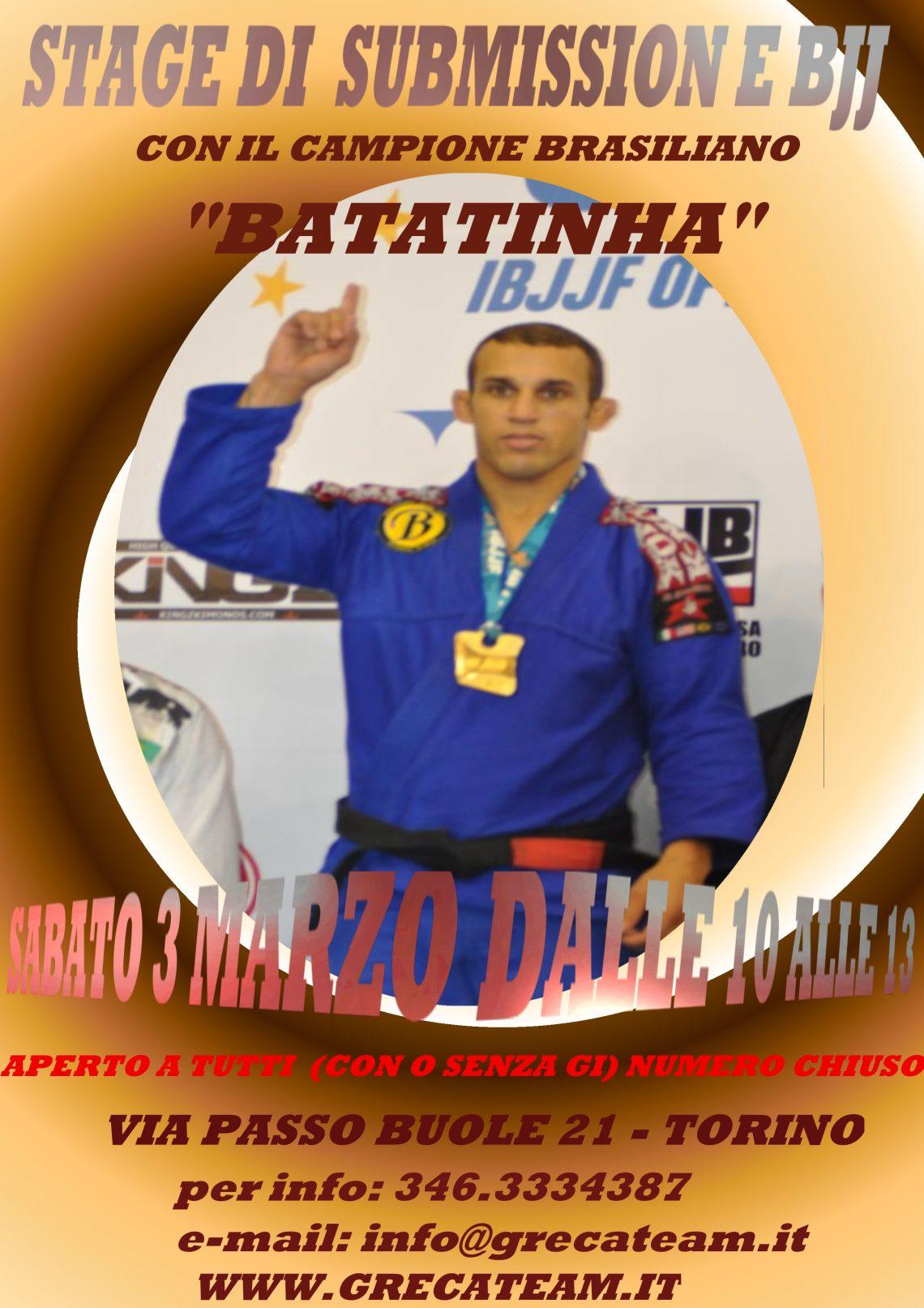 Stage Batatinha a Torino 1
