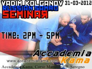 Seminario di Sambo con Vadim Kolganov a Milano 2