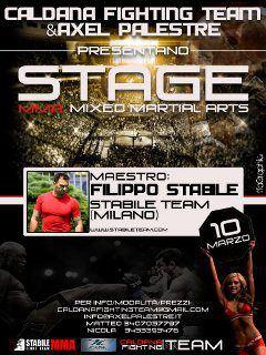 10 Marzo - Filippo Stabile in Stage a Vicenza (MMA) 1