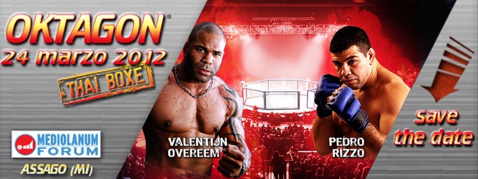 Oktagon 2012 - FightCard 1