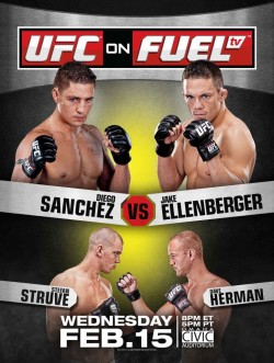 UFC on FUEL TV: Sanchez vs. Ellenberger - risultati veloci 1