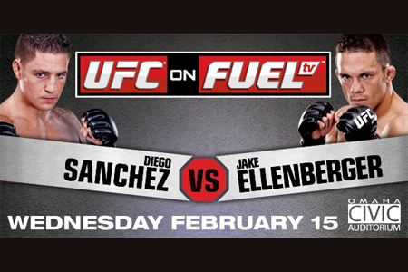 UFC On Fuel TV: Sanchez vs Ellenberger - promo e lineup  1