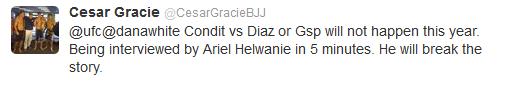 Dana conferma Condit vs Diaz II - Cesar Gracie: vedremo.... 3