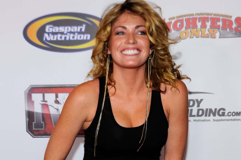 Natascha Wicks torna a fare la ring Girl... 2