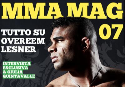 MMA Mag 08: nuova Grafica ! Uscito oggi - sempre GRATIS ! 1